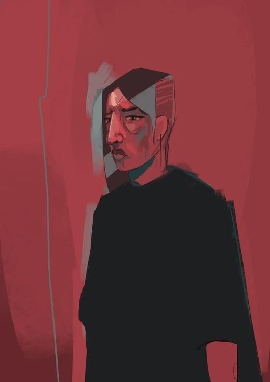 Nia - 03, illustration, digitalart - jordan_buckner | ello