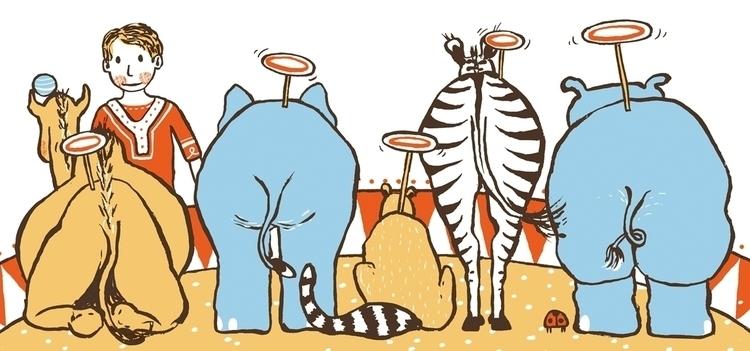 Spread Carly - picture book - circus - jd-1176   ello