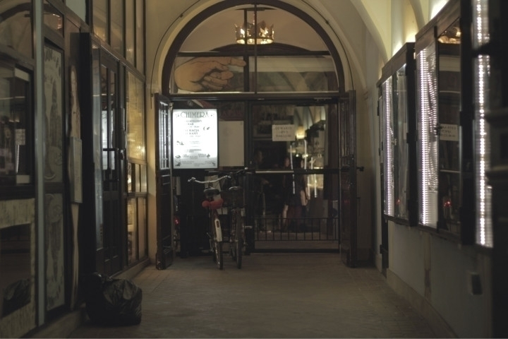 Entrance Chimera restaurant - krakow - joanasantos | ello