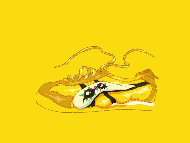 Nike air max - yellow, asics, onitsuka - totoi | ello