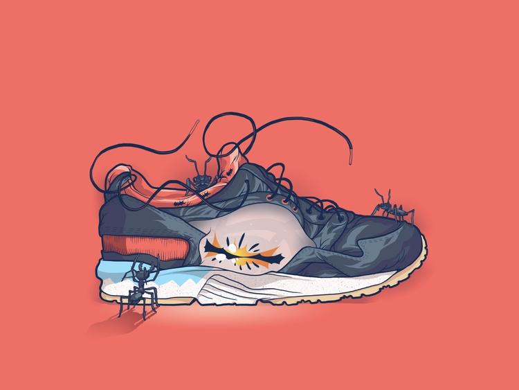 Asics - Ants, sneakers, kicks - totoi | ello