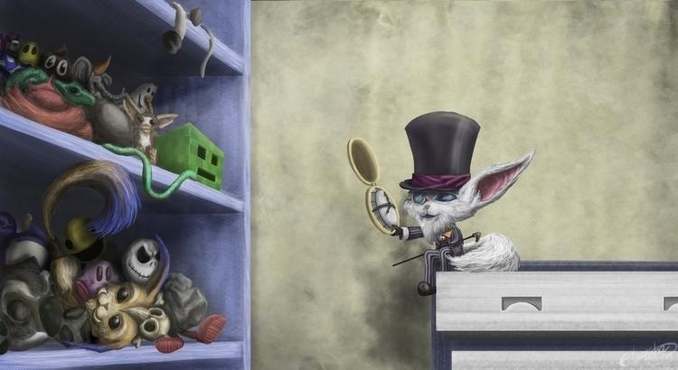 Gnar Fan Art - illustration, painting - edgarteba | ello