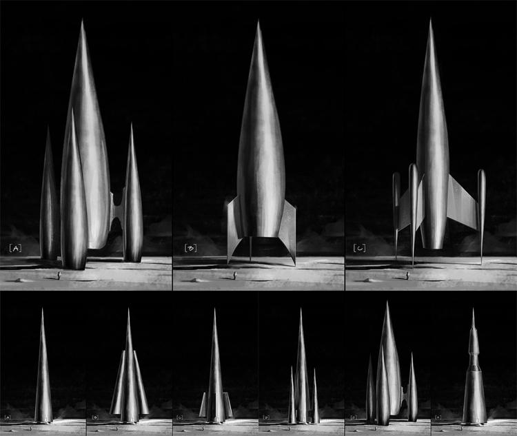 Spaceship Design / Styleframe L - rammmon | ello