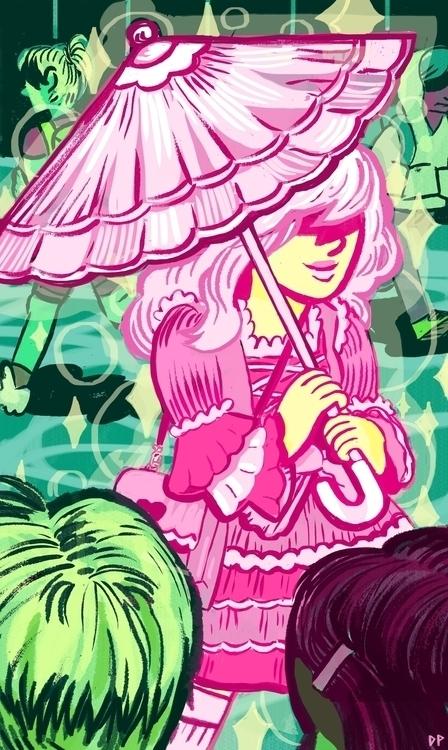 Time, Lolita Traditional/Digita - devyn_park   ello