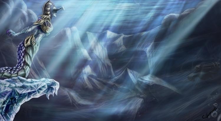 Cassiopeia Marine Fan Art - illustration - edgarteba | ello