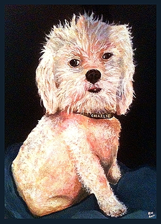 Charlie Acrylic Canvas - painting - wilkinso-5391 | ello