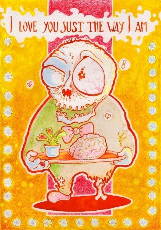 illustration, valentine - zhenyayanovich   ello