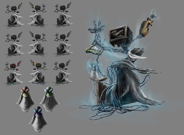 Character desing project - illustration - edgarteba | ello