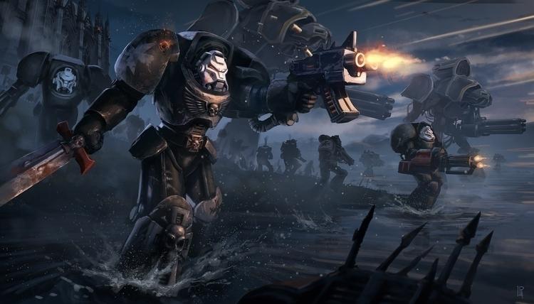 Warhammer 40k fan art - warhammer - pierreloyvet | ello
