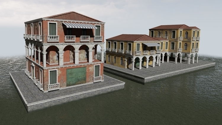 Venice Modular Kit - environment - brittanyshively | ello