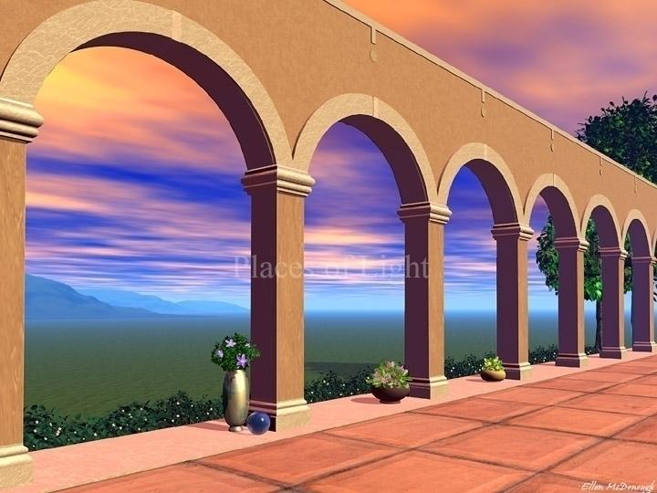 Bellezia PlacesofLight.com - arches - emcdonough | ello