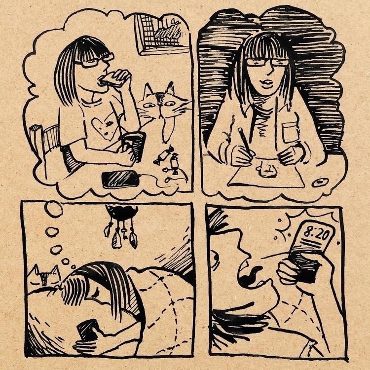 Morning: real dreams - comics, comic - prianikn | ello