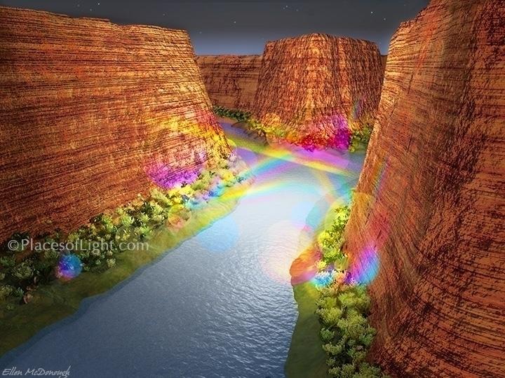 Canyon Light PlacesofLight.com - emcdonough | ello