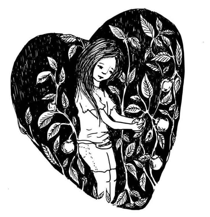 blackandwhite, heart - venganza_de_samael | ello