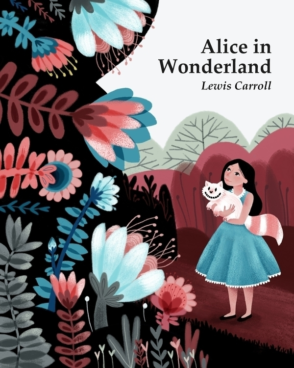 Alice Wonderland - illustration - manjaciric | ello