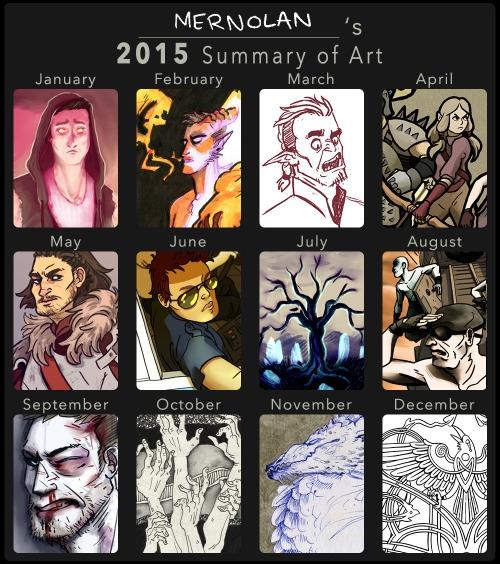 2015 Summary Art - summaryofart - mernolan | ello