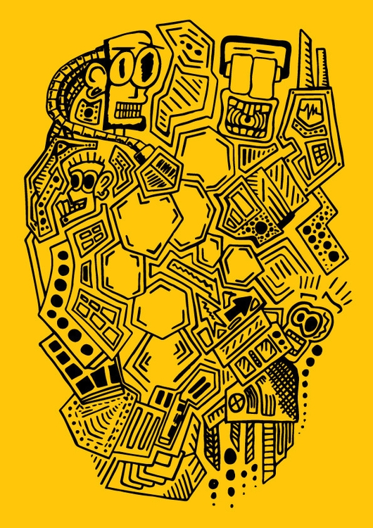 Pattern Illustration - handdrawn - stephencunniffe | ello