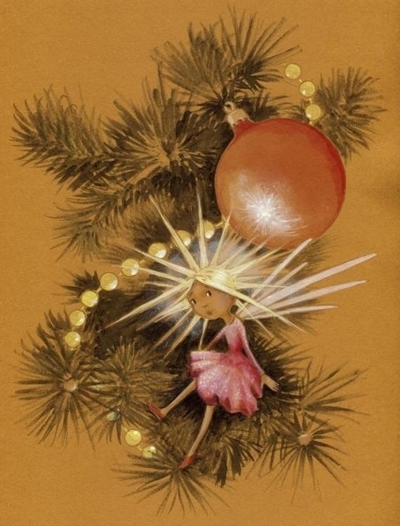 Christmas Fairy. live tree, dif - joannapasek | ello