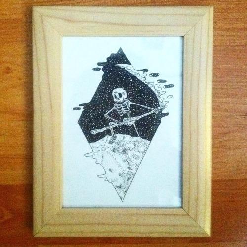 death ink paper 17x12 cm SALE f - chaps-5940 | ello