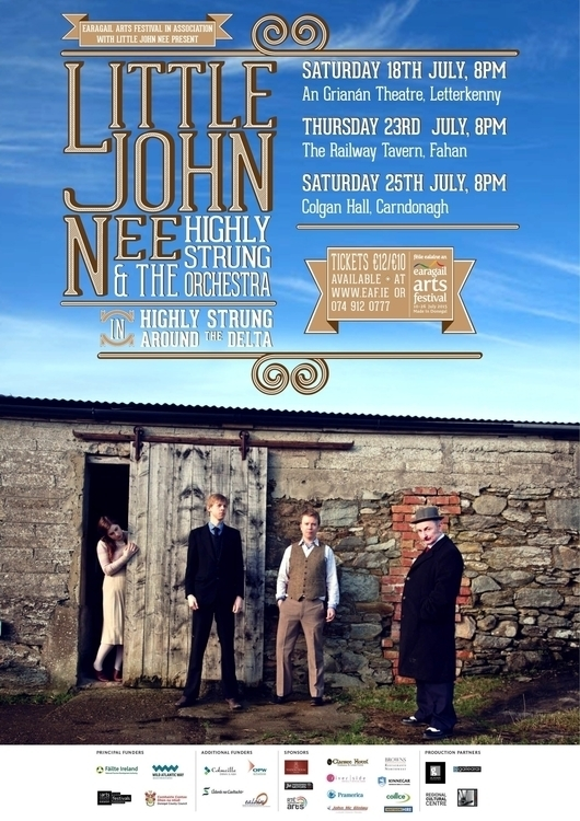 John Nee Poster EAF 2015 Shows - stephencunniffe | ello