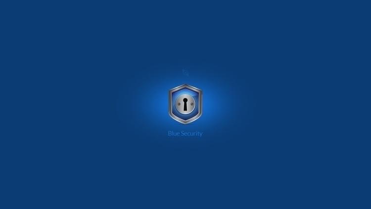 Security Icon. fun - blue, security - devinhansen | ello