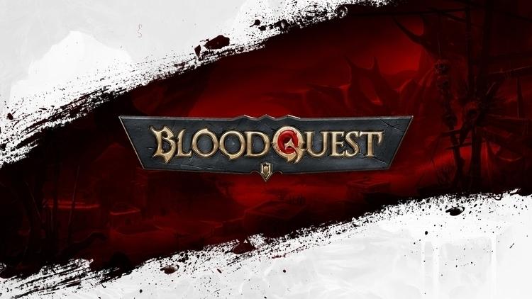 BloodQuest. Logo designed mobil - devinhansen | ello