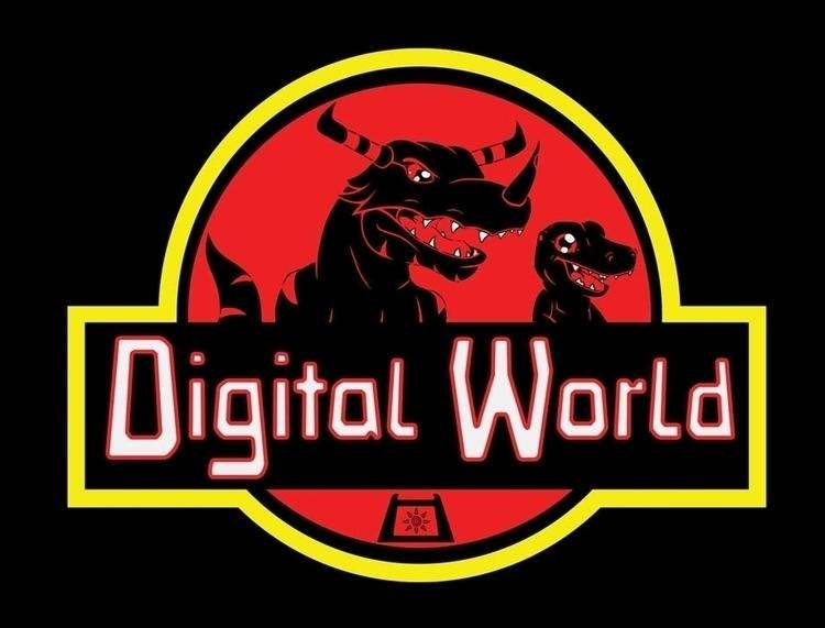 mix Jurassic Park Digimon - digimon - jellysoupstudios | ello