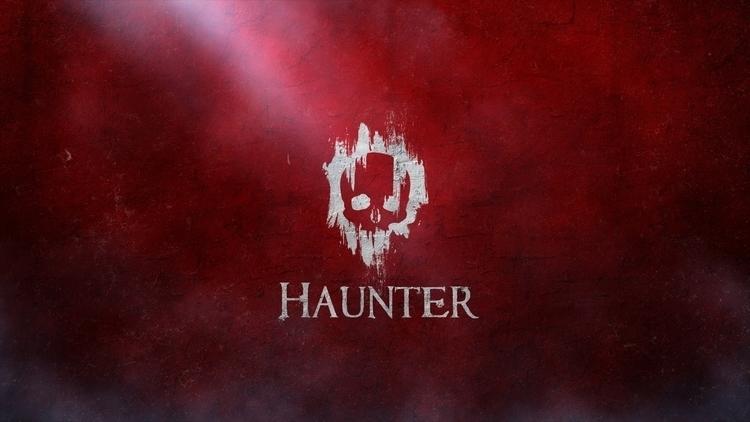 Haunter. Logo fun - red, skull, logo - devinhansen | ello