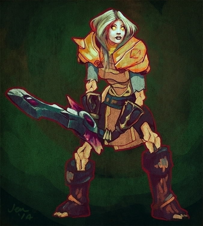 Undead warrior - World Warcraft - estirdalin | ello