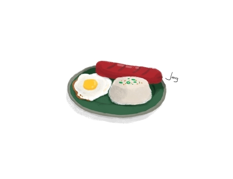 Breakfast - food, breakfast, illustration - jang-4468 | ello