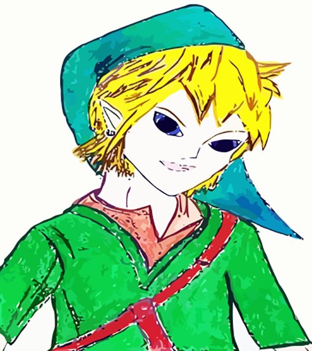 Link Thought - link, character, sketch - jennziegirl | ello