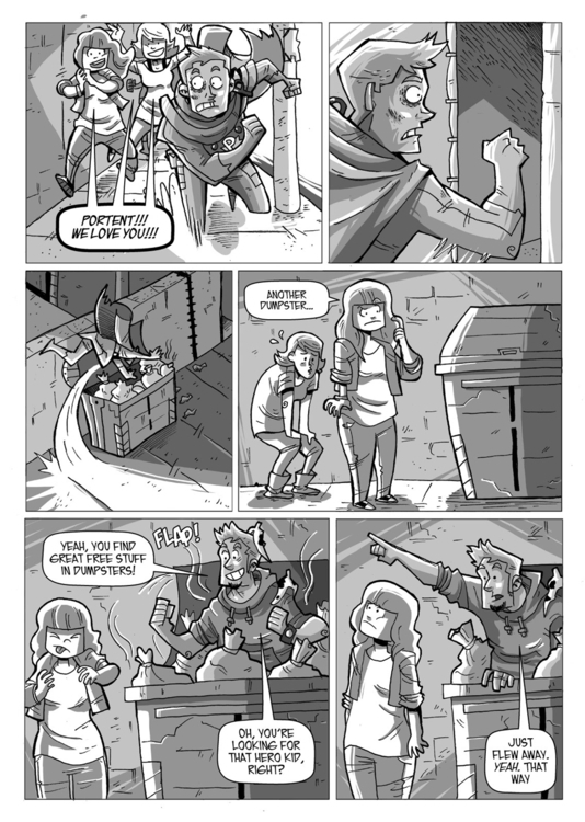 Portent Chapter 1 - Page 2 - portent - seecarladraw | ello