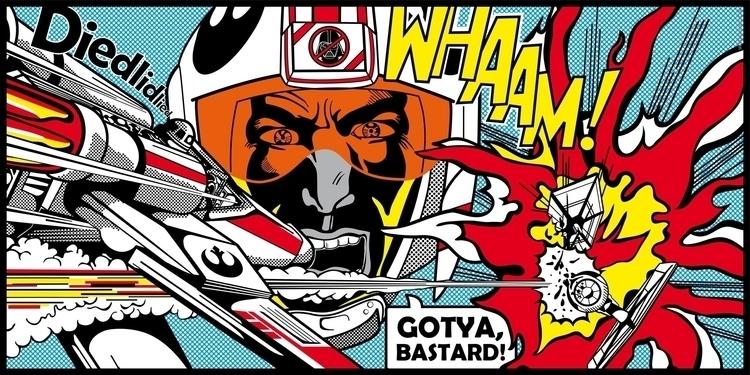 Star Wars Pop Art - Battle - starwars - bergie81 | ello