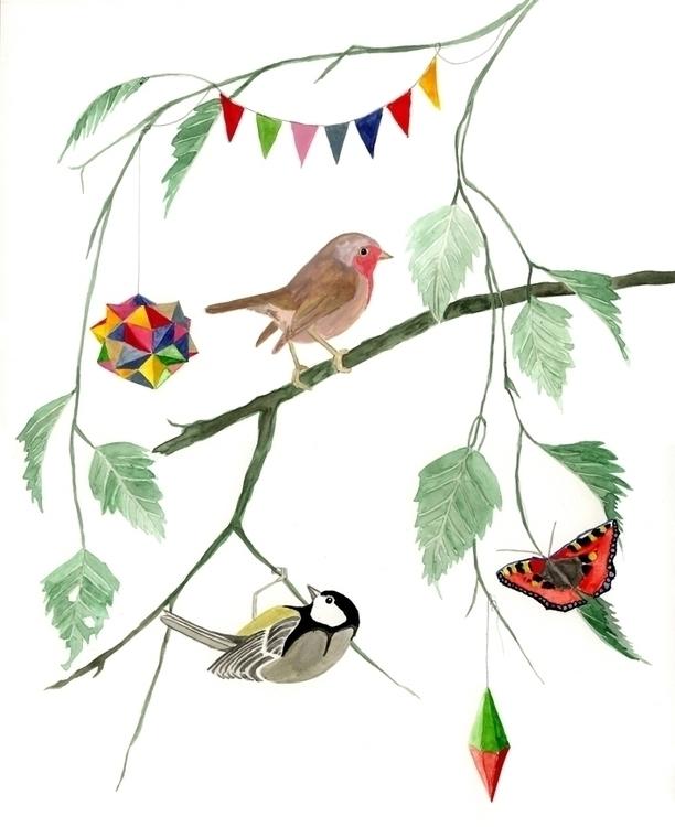 birds, robin, robinredbreast - robincottage | ello