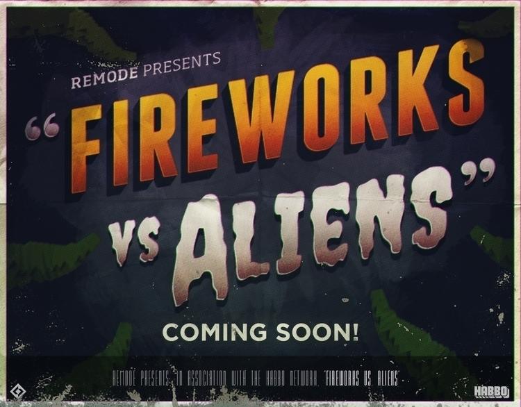 Fireworks Aliens Game Promo Pos - miruku3d   ello