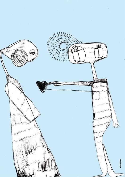 illustration, pencil, penink - floriane-9695 | ello