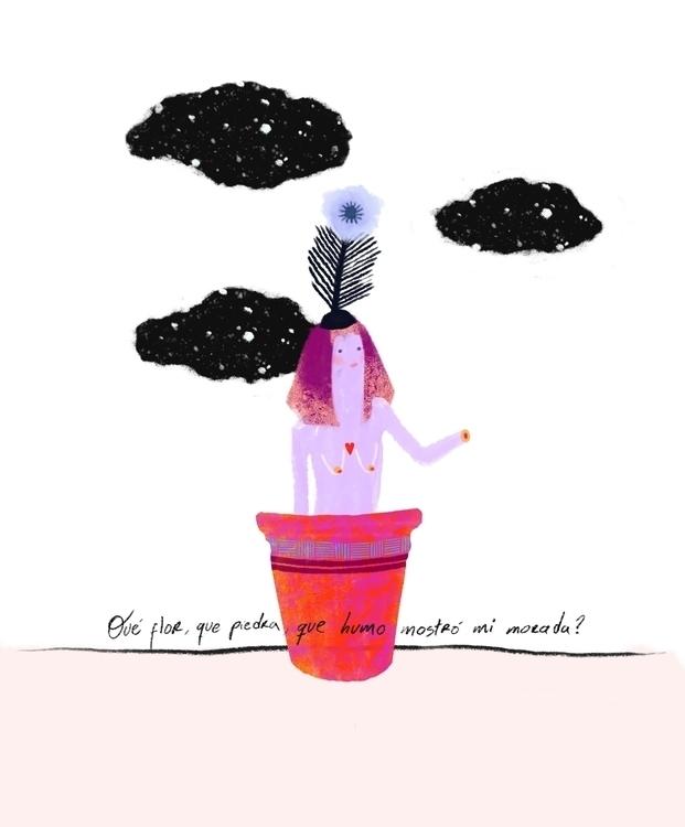 poem illustrated - illustration - taniaorozco | ello