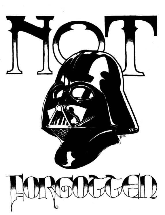 Forgotten - starwars, darthvader - wyldtrees | ello