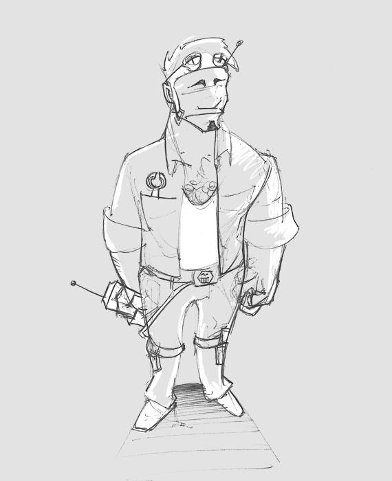 characterdesign, cartooning, doodle - graou | ello