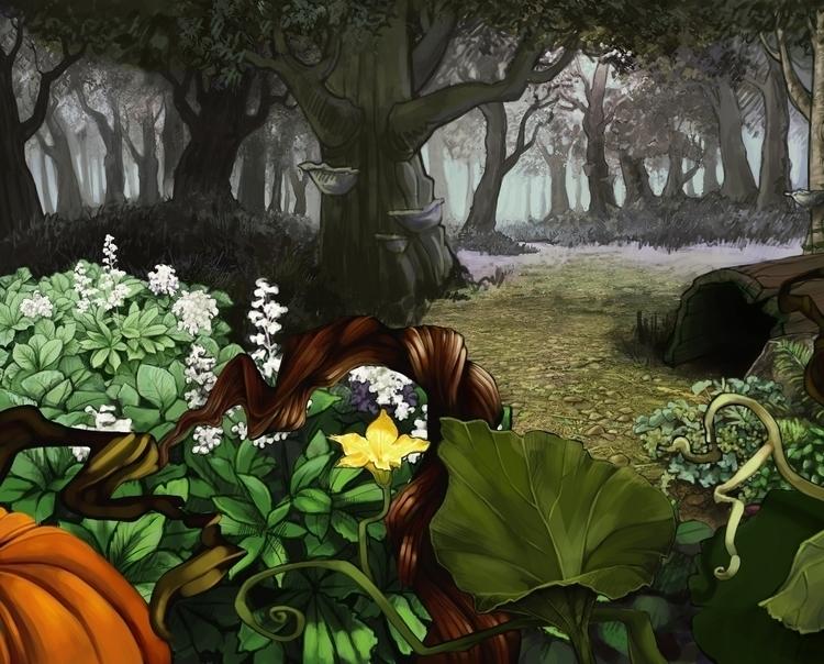 Forest 7 - estirdalin | ello