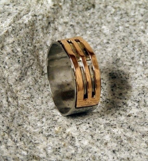 stainless steel copper ring - fashion - wolfgangschweizer | ello