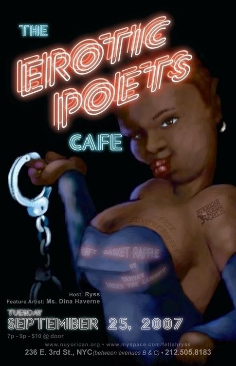 Event flyer - Erotic Poets Cafe - bkthompson | ello