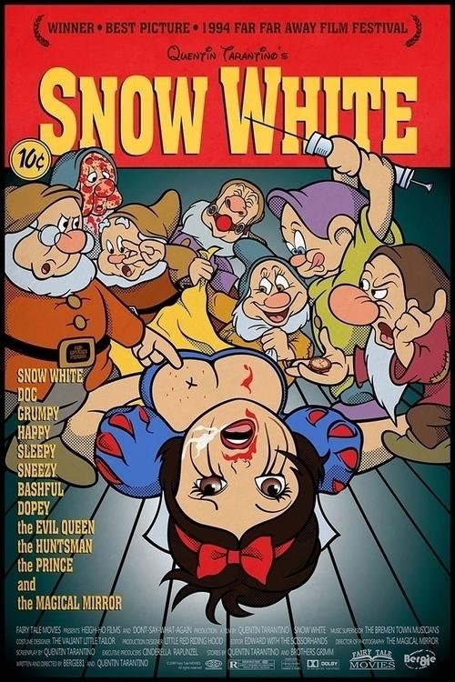 Pop Art Mashup - Snow White Pul - bergie81 | ello