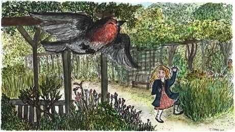 Secret Garden - illustration, children'sillustration - jchanart | ello