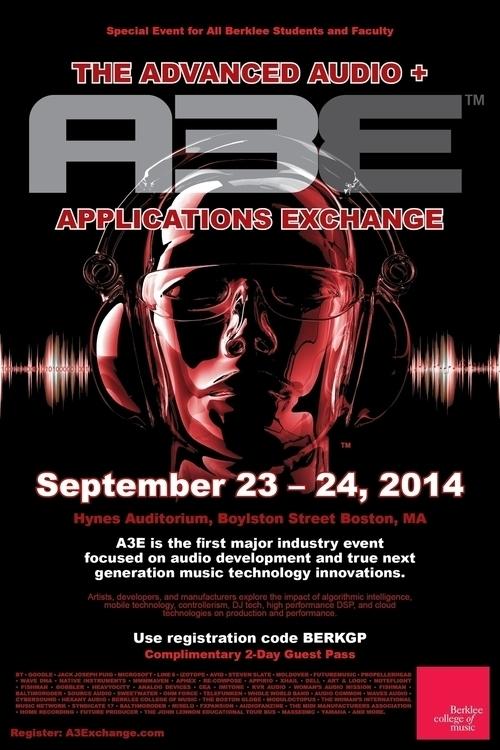 Event Poster - AE3 - graphicdesign - bkthompson | ello