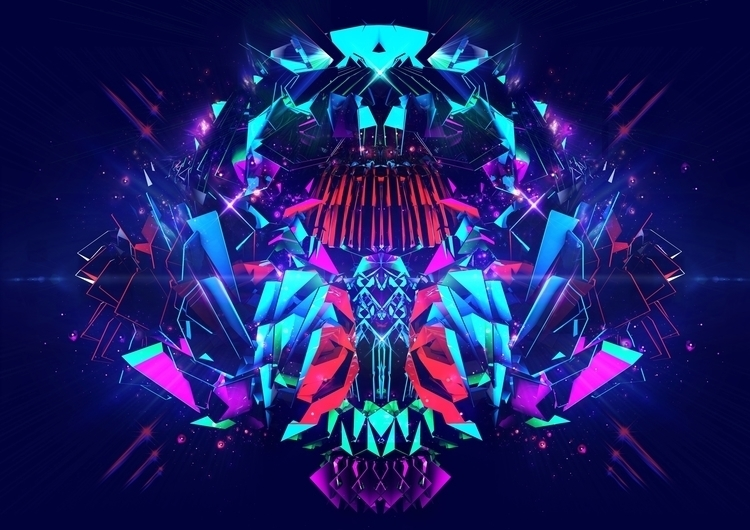 Beautiful Chaos - digitalart, illustration - alvinalif | ello