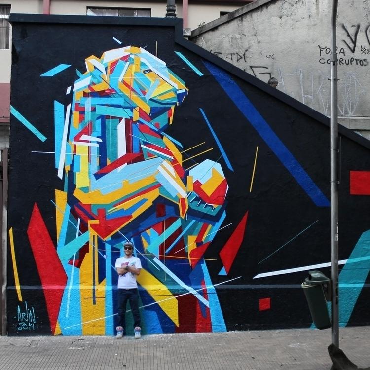 Polar Bear - Sao Paulo Brazil - graffiti - arlin-5294 | ello