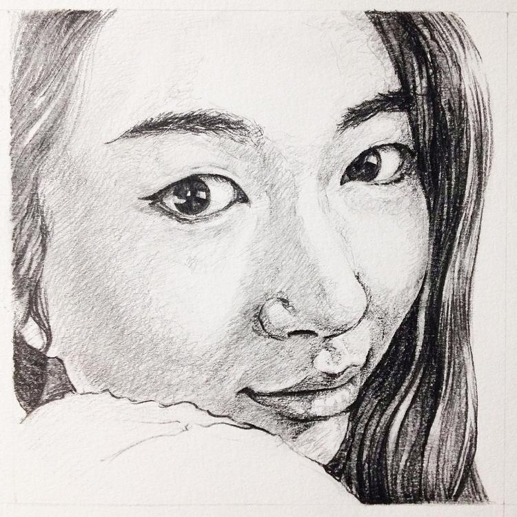 portrait sketches - illustration - bingnanwei   ello