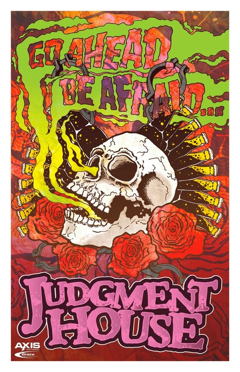 JUDGMENT HOUSE POSTER - halloween - andyjewett | ello
