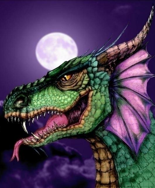 Dragon night - albertososa | ello